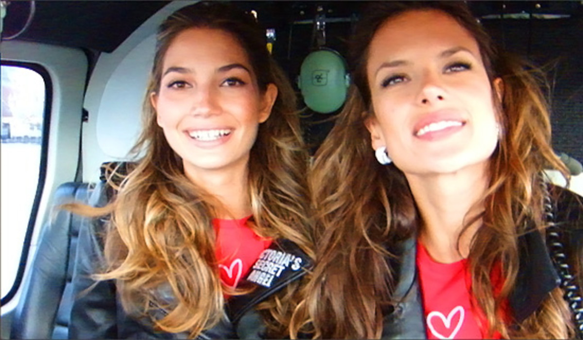 Victorias Secret Angels Lily and Alessandra