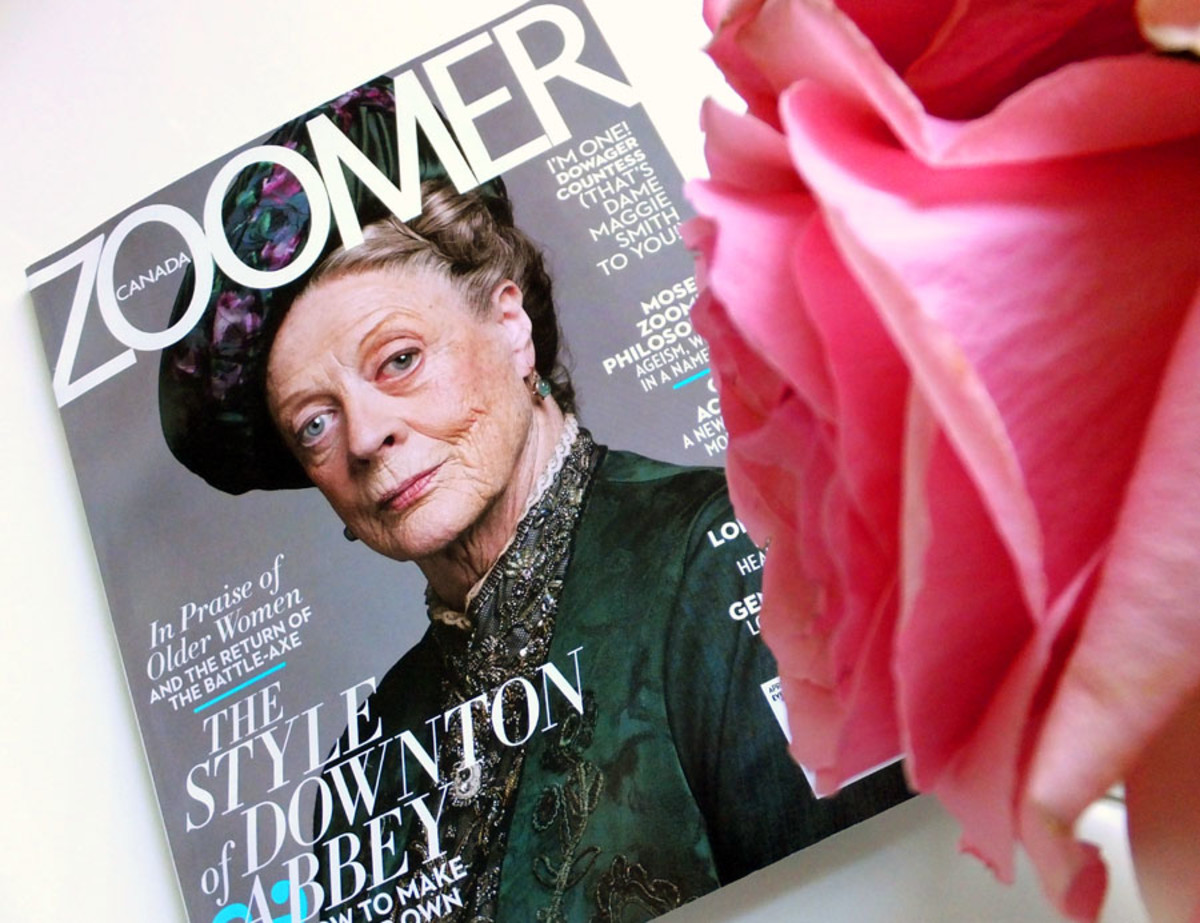 Zoomer magazine_April 2013_Maggie Smith cover