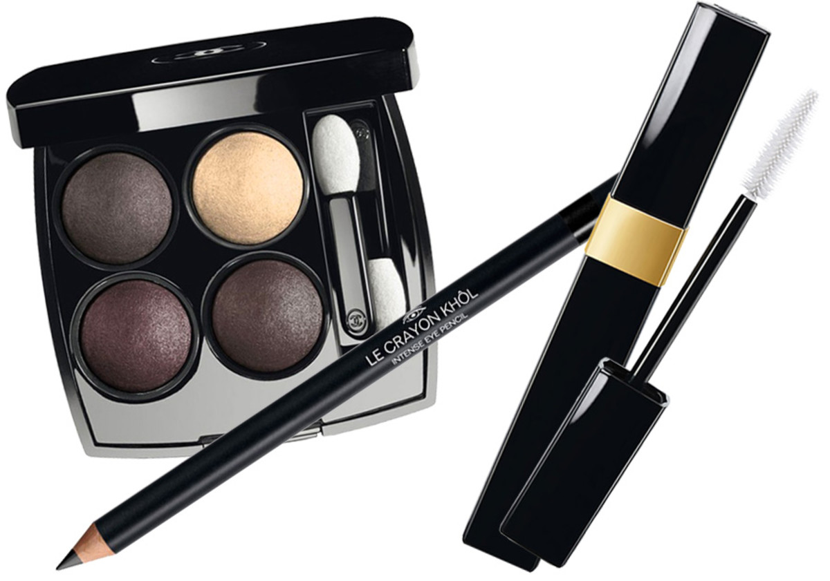 Kiera Knightley TIFF 2014_Chanel Les 4 Ombres Tisse Gabrielle_Chanel Le Crayon Khol Intense Noir_Chanel Inimitable Mascara Noir