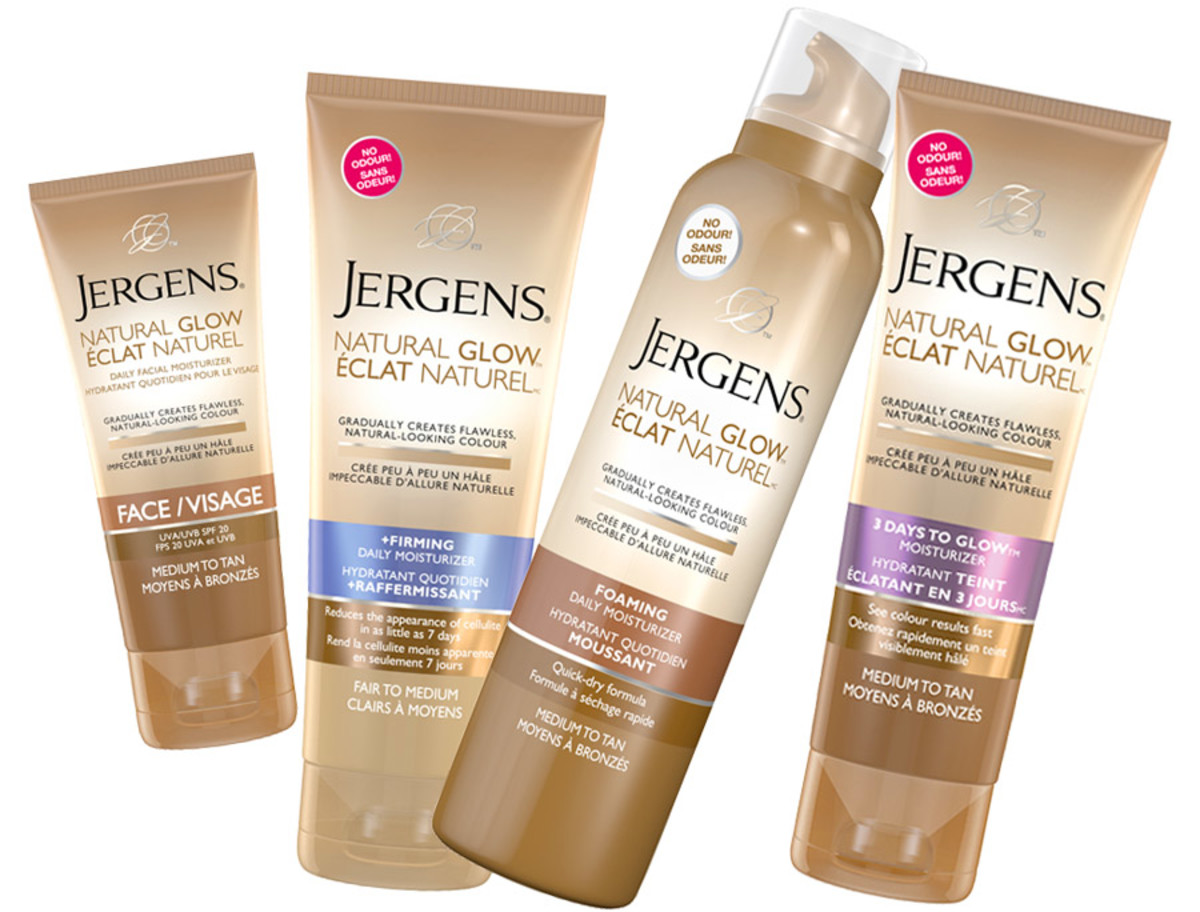 Jergens no-odour Natural Glow Moisturizers