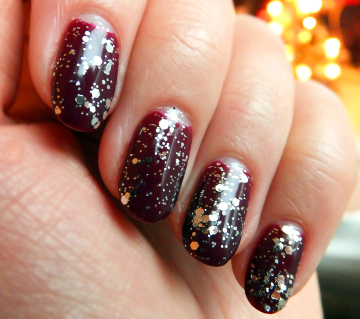F is for Festive Nails: A One-Minute Mani Change-Up + Sequin Nail ...