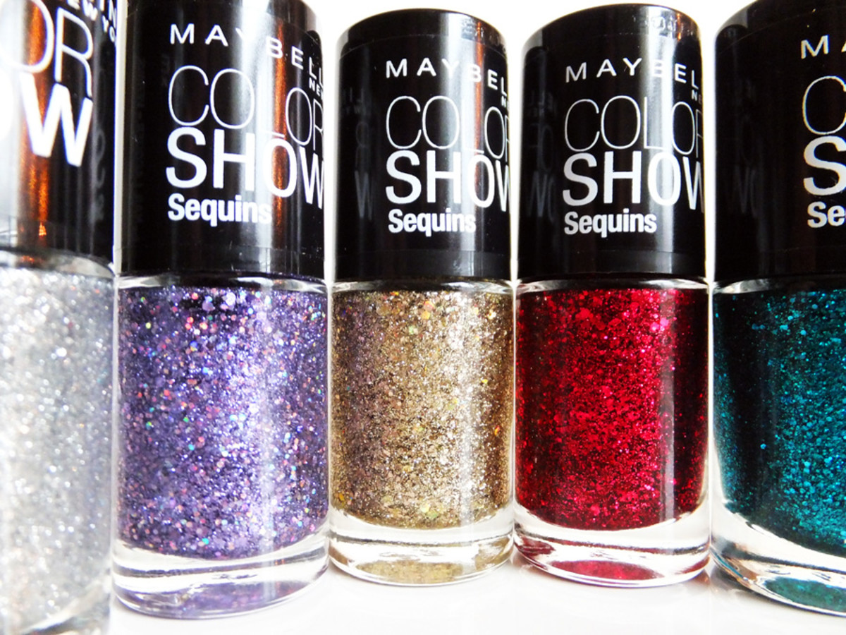 Maybelline New York Color Show Sequins nail polish