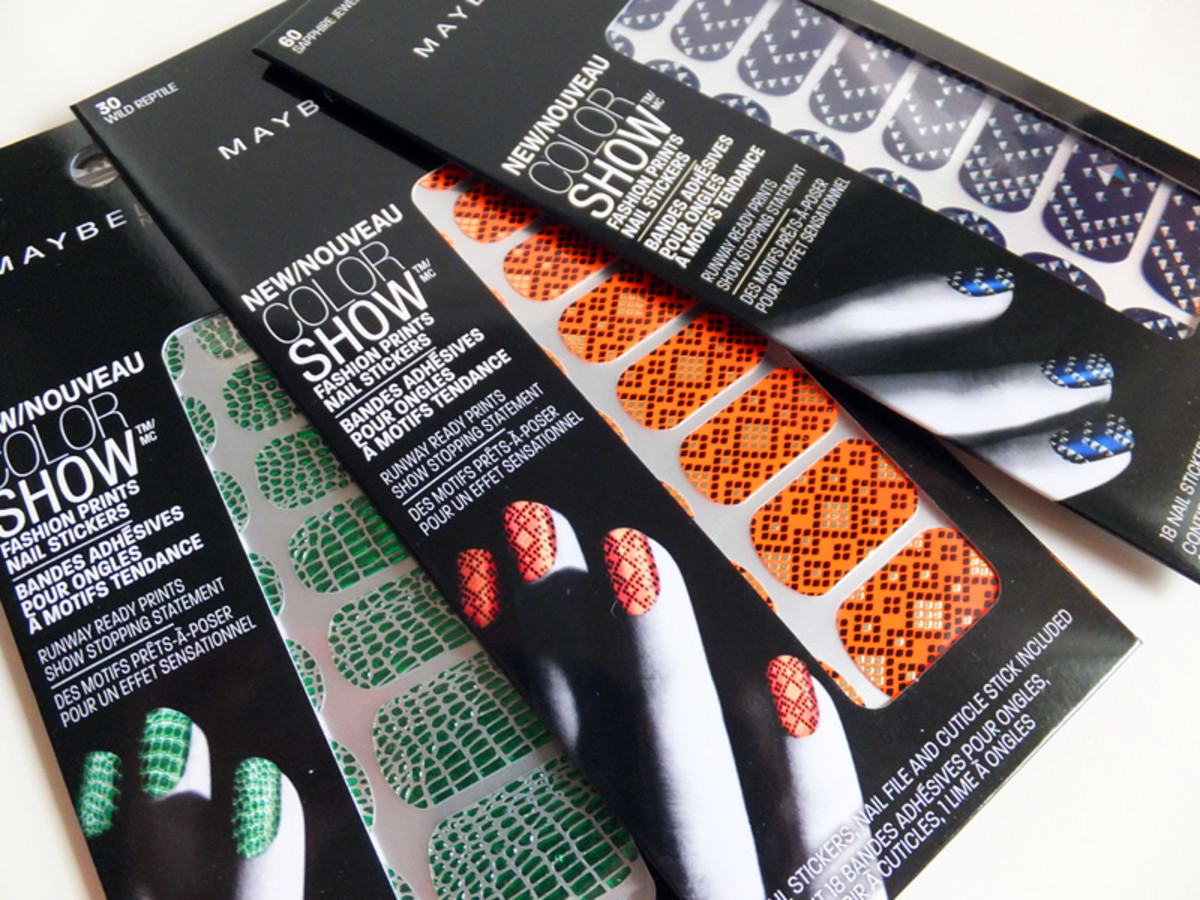 Maybelline New York Color Show Nail Stickers