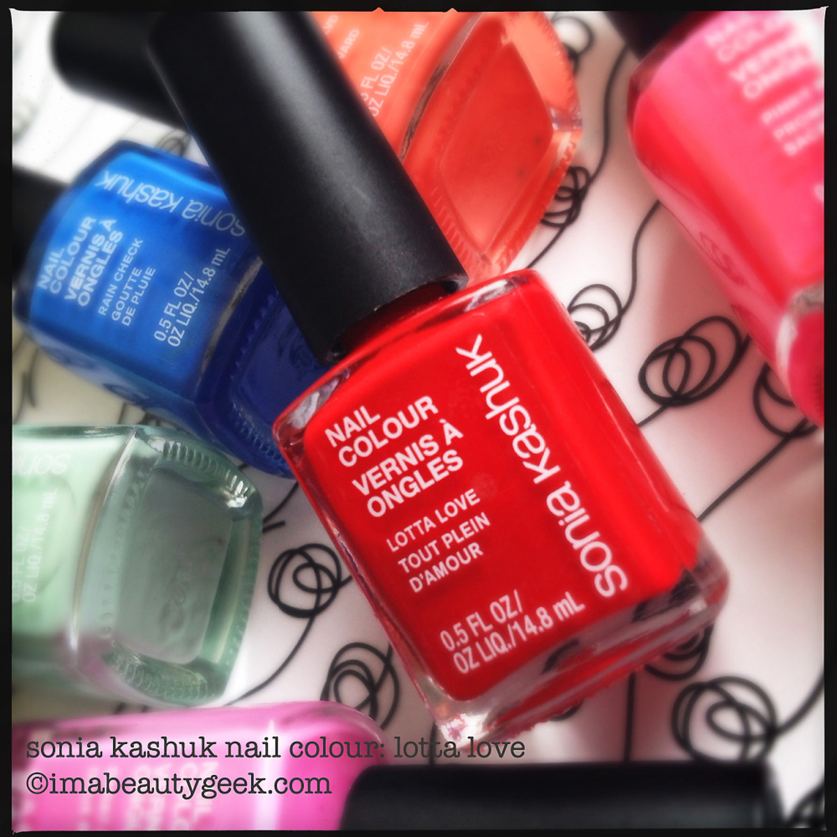 Sonia Kashuk Lotta Love nail polish