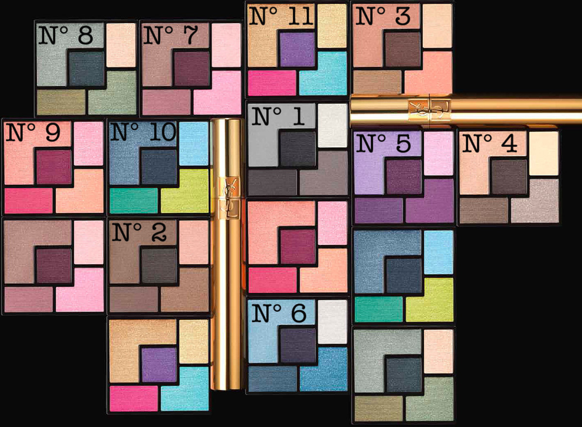 YSL Couture Palette collection of 11_Yves Saint Laurent