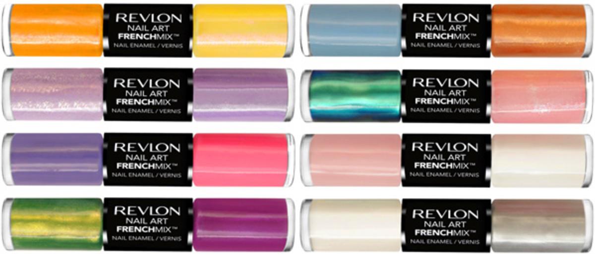 Revlon Nail Art_French Mix