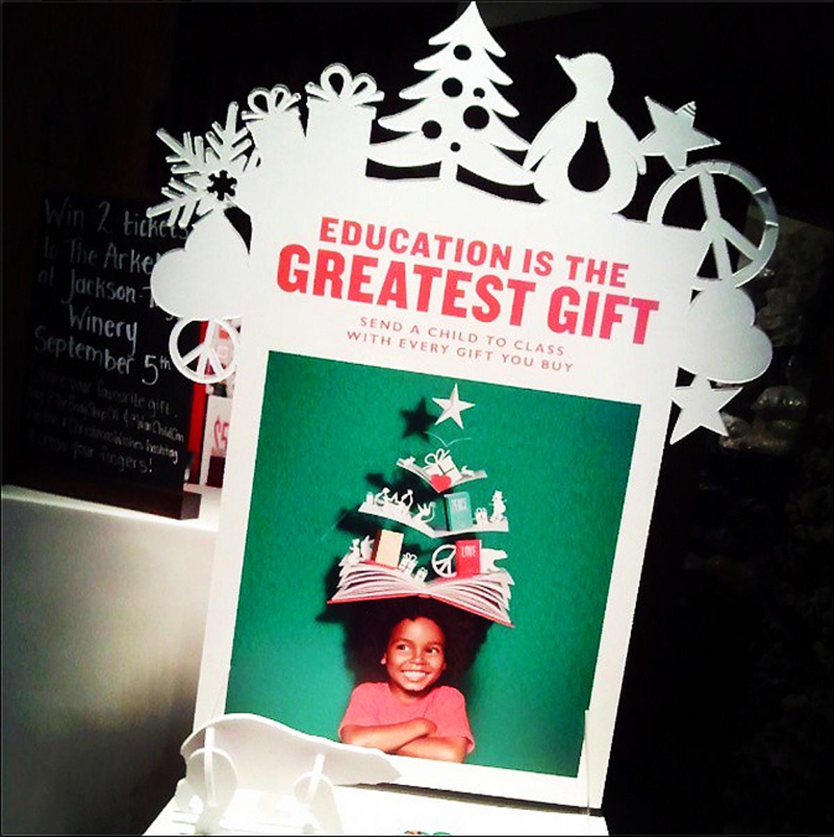 The Body Shop Holiday 2014_War Child initiative_Instagram_JanineFalcon