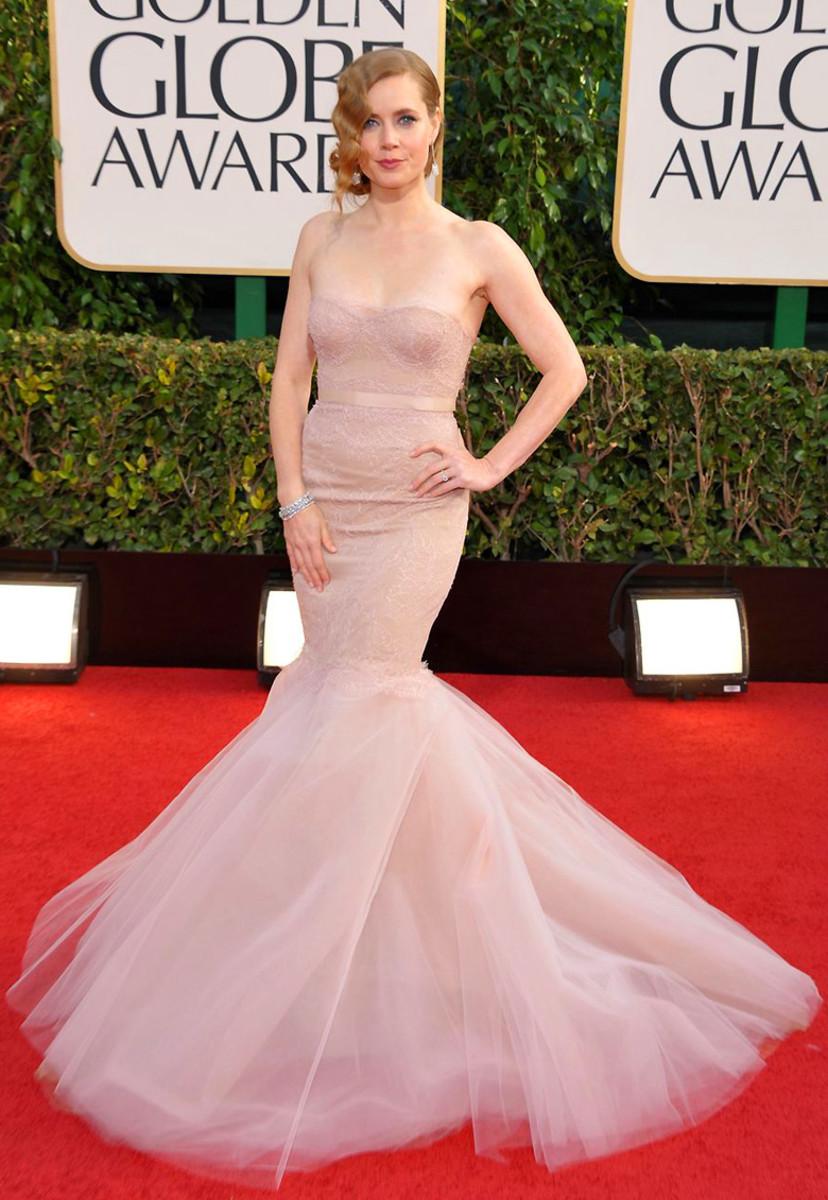 Amy Adams_Golden Globes 2013_gown