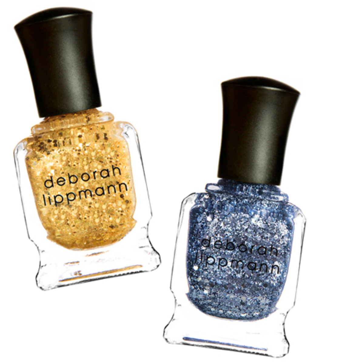 Deborah Lippmann nail polish in Boom Boom Pow and Today Was A Fairytale