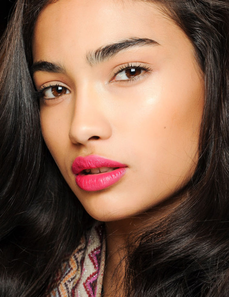 beauty-fall-2013-dvf-dian-von-furstenberg-natural-bold-lip-fresh-face-fashionoverreason-new-york-fashion-week