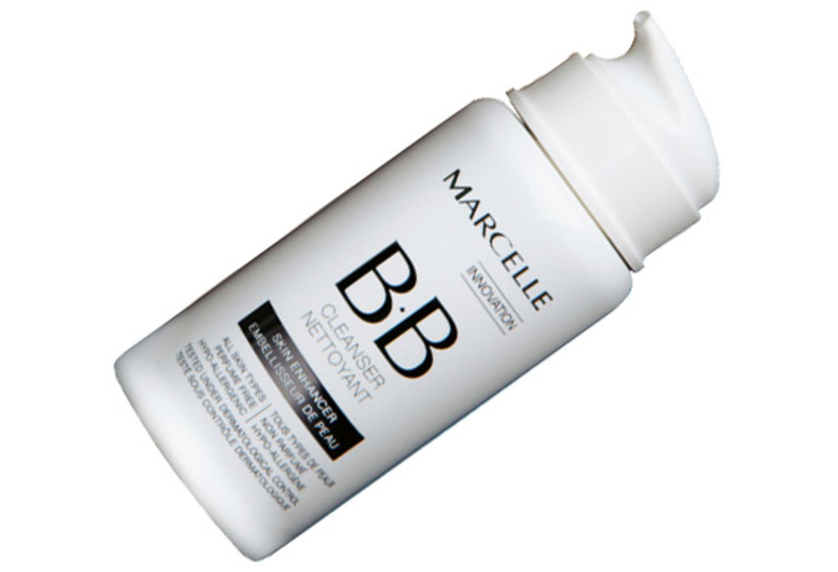 Marcelle BB Cleanser: a comforting wipe-off formula, and it's fragrance-free.