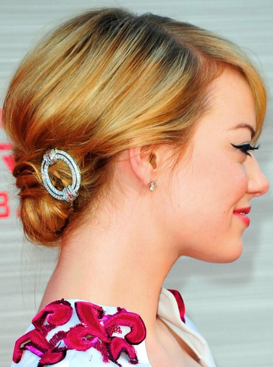Emma Stone_hair_Spiderman LA