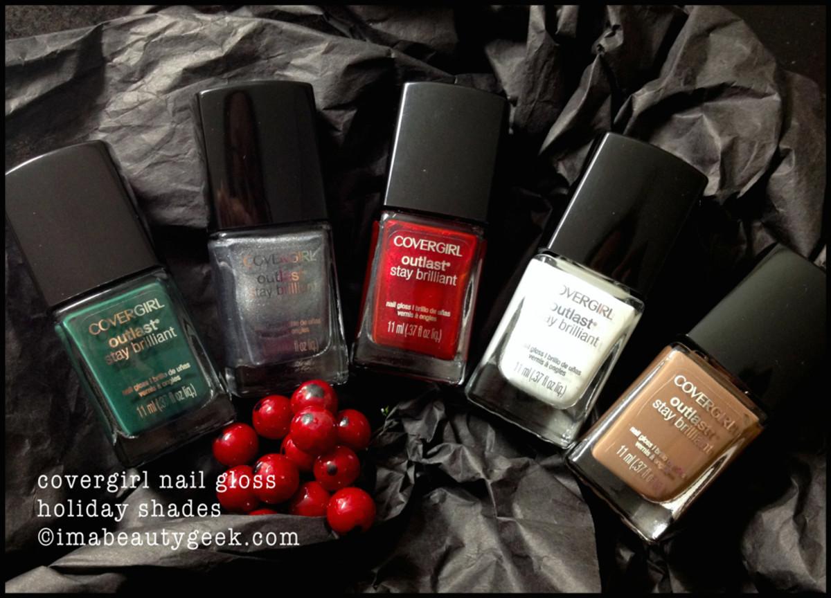 Covergirl Nail Holiday 2014