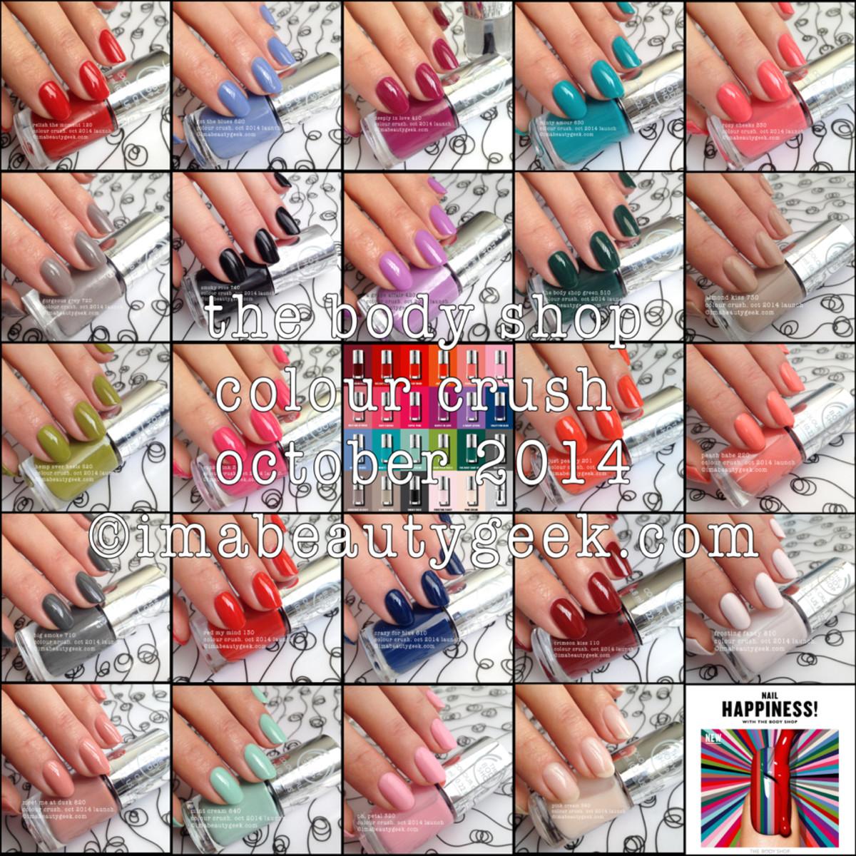 The Body Shop Colour Crush Composite