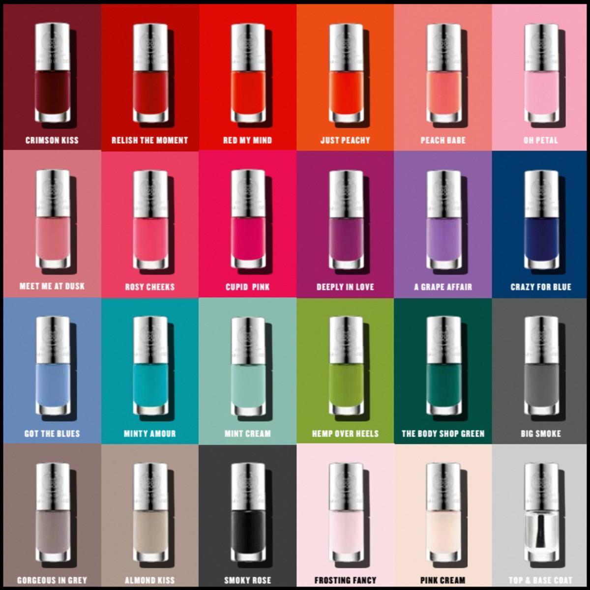 Body Shop Colour Crush Polish