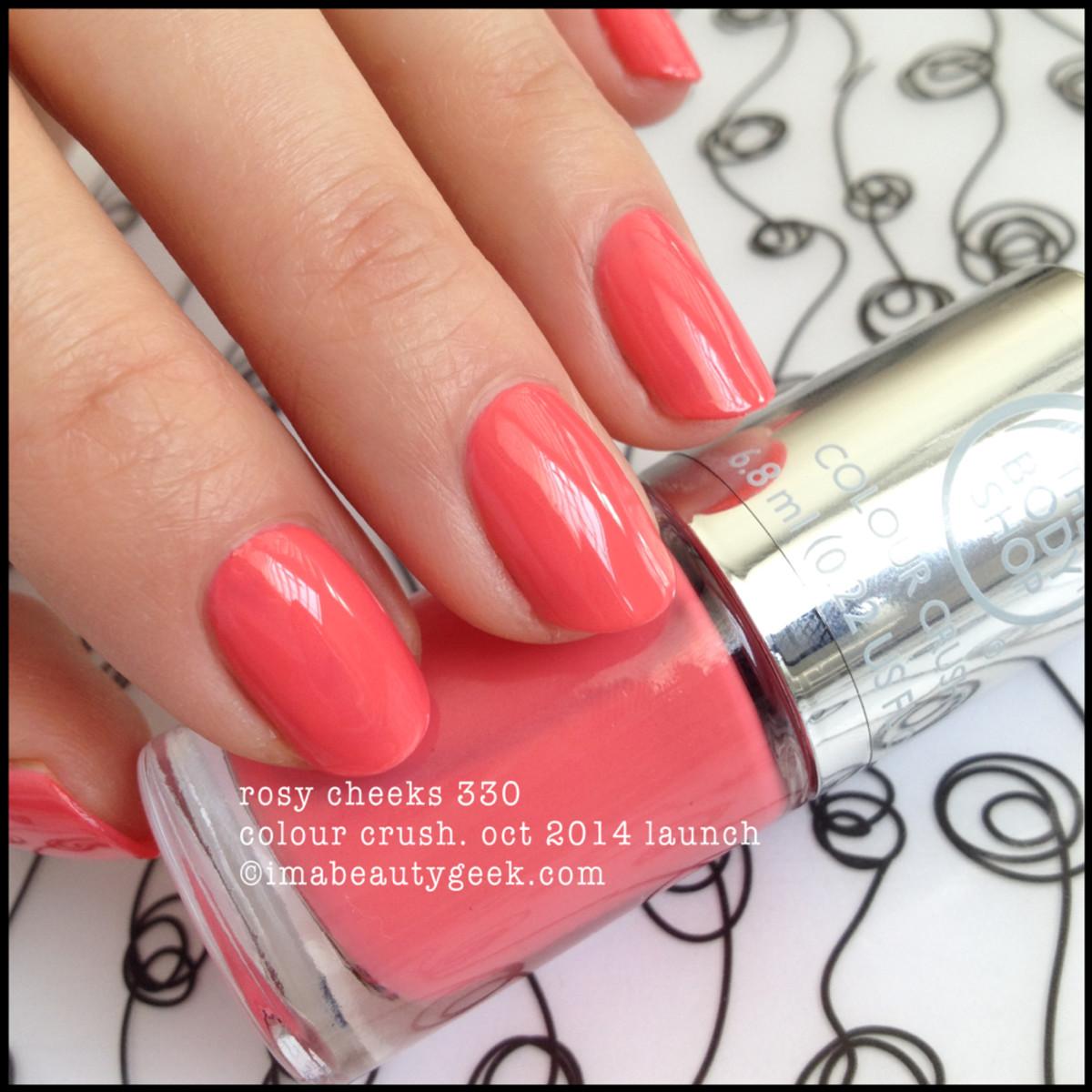 Body Shop Rosy Cheeks 330 Colour Crush Polish