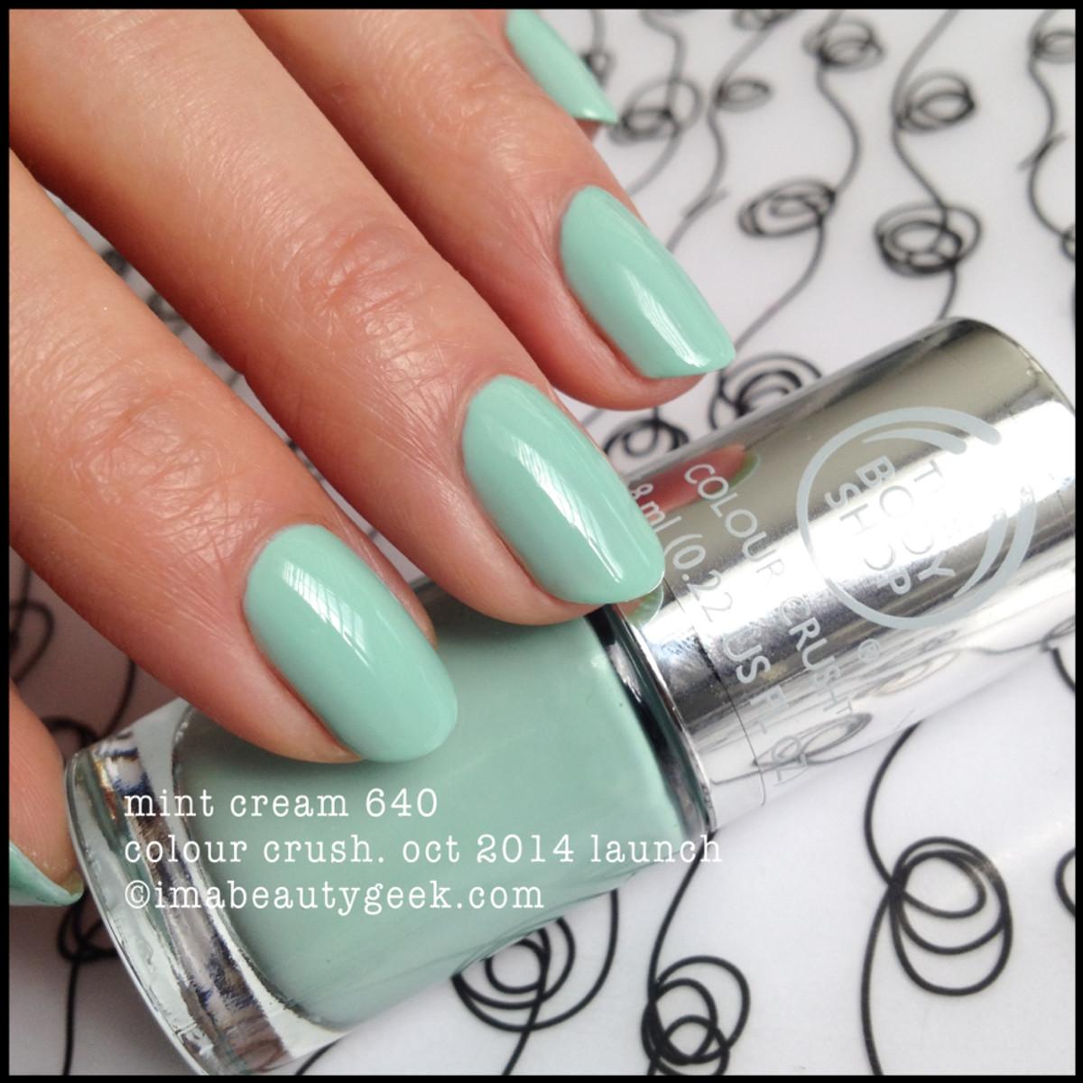 Body Shop Mint Cream 640 Colour Crush