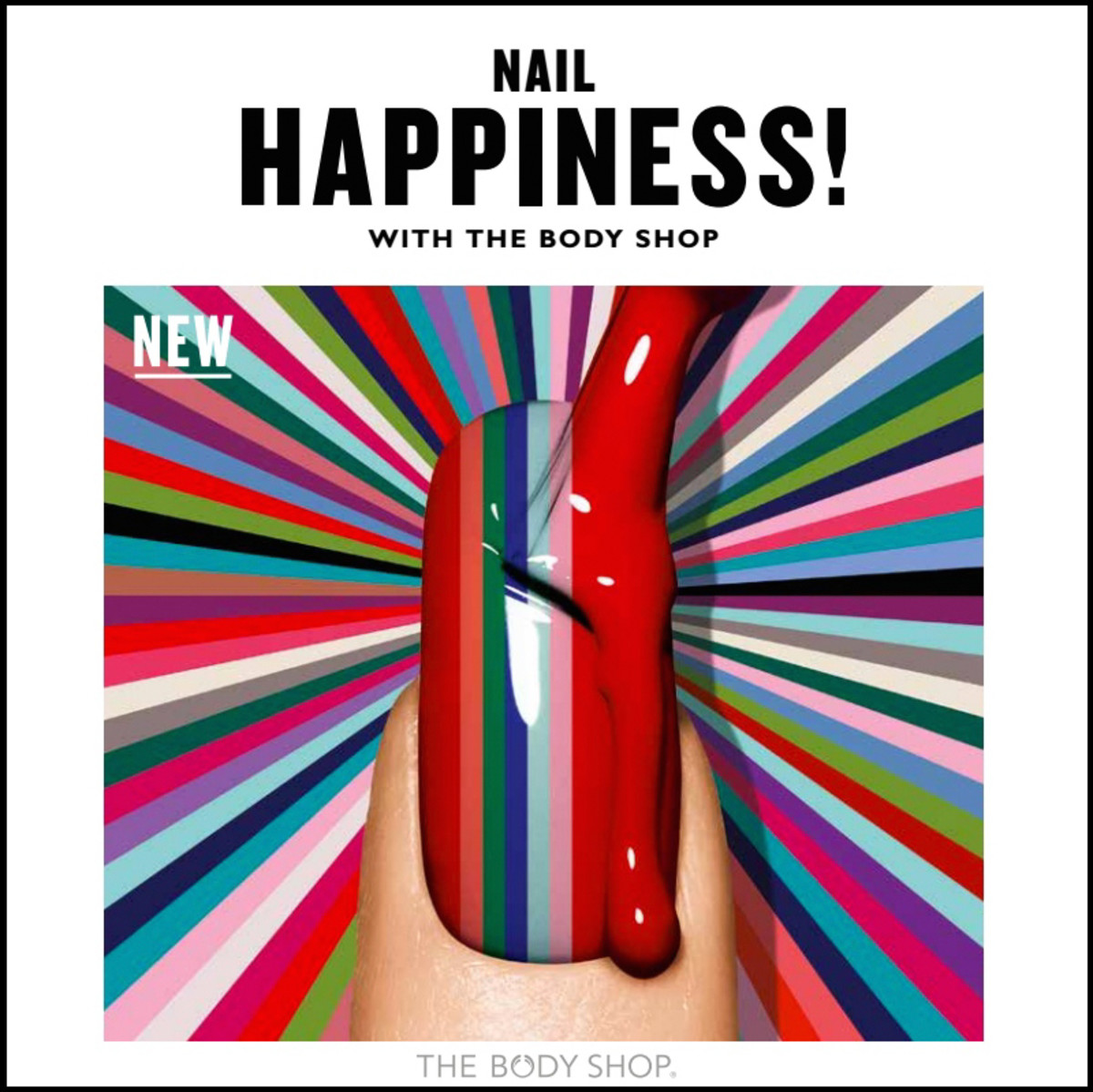 Body Shop Nail Happiness Colour Crush
