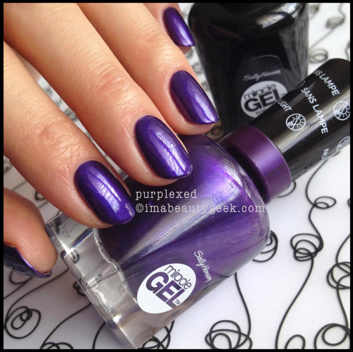 sally hansen purplexed