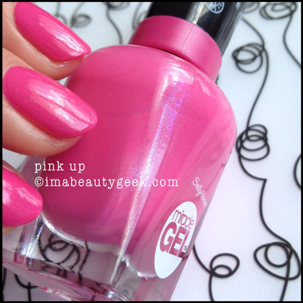 sally hansen pink up bottle