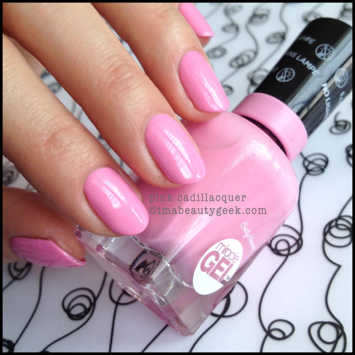 sally hansen pink cadillacquer