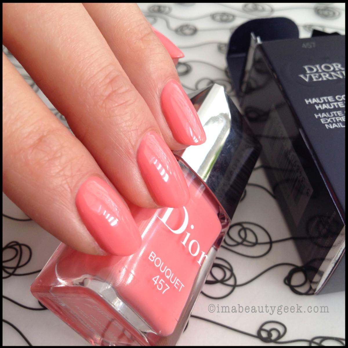 Dior Bouquet 457_Dior Spring 2014 nails Trianon edition