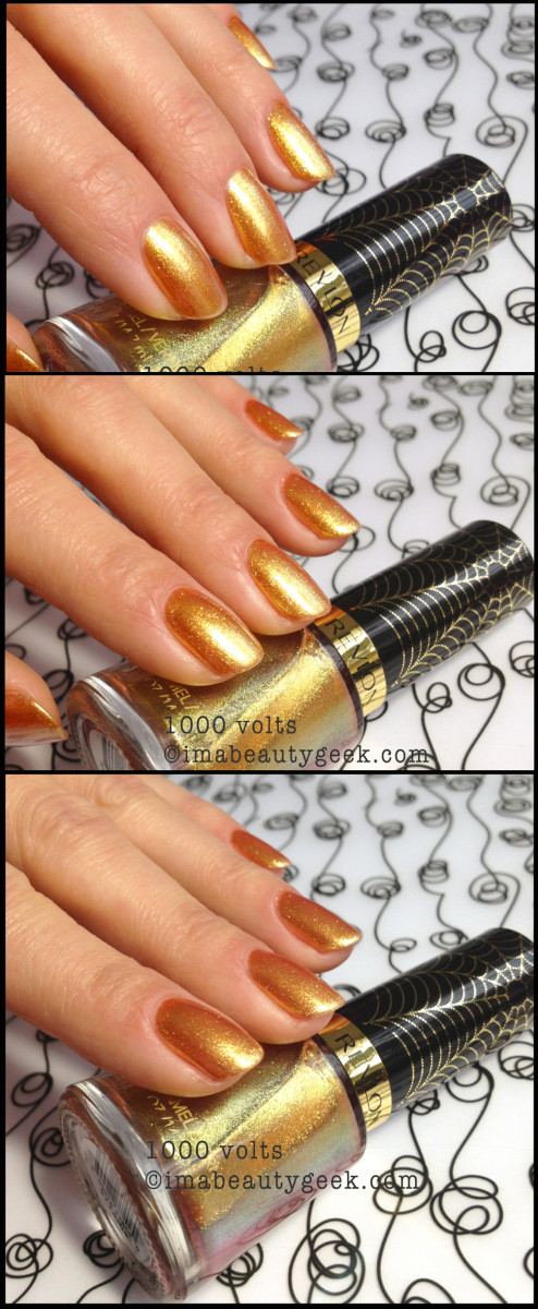 Revlon Spiderman 1000 Volts Electric Chrome