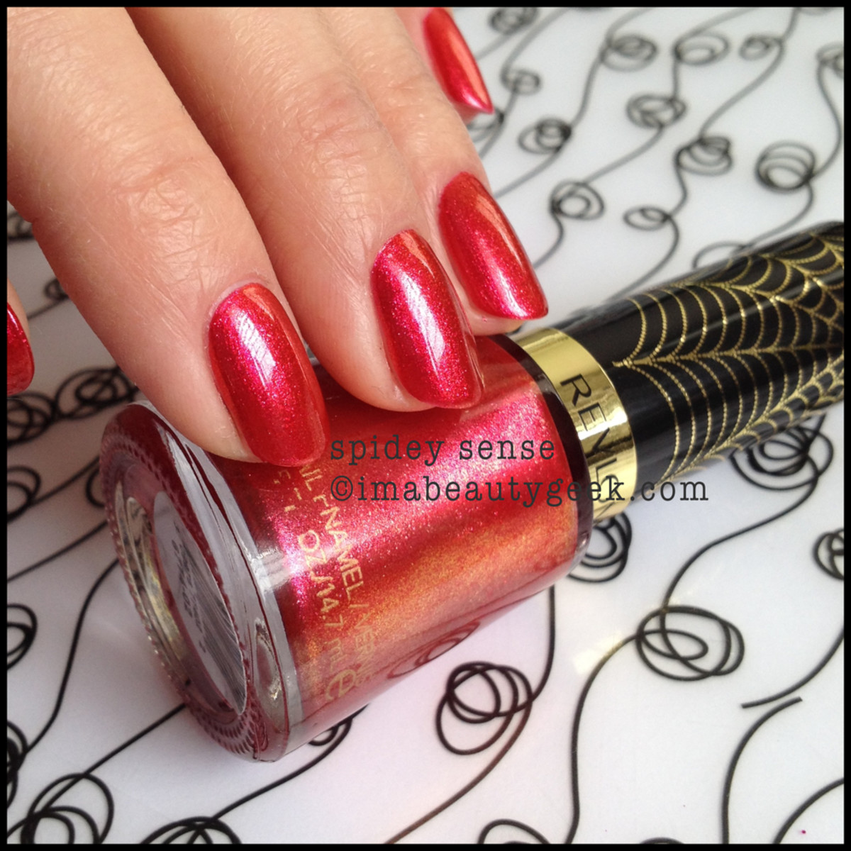 Revlon Spiderman Spidey Sense Electric Chrome
