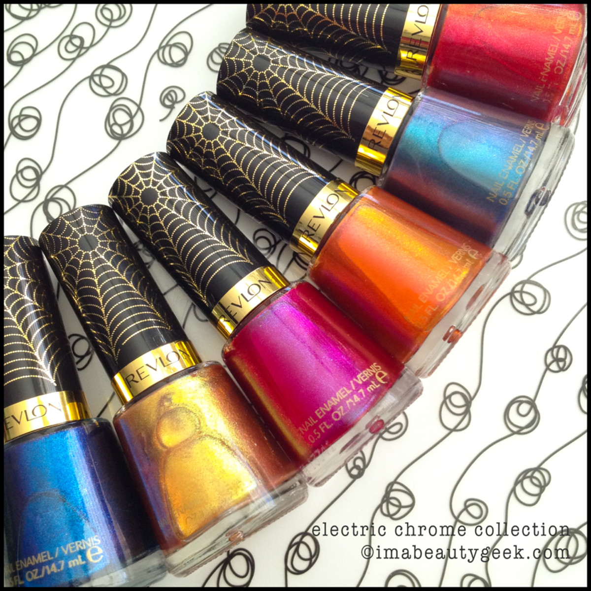 Revlon Spiderman Electric Chrome Collection 2014