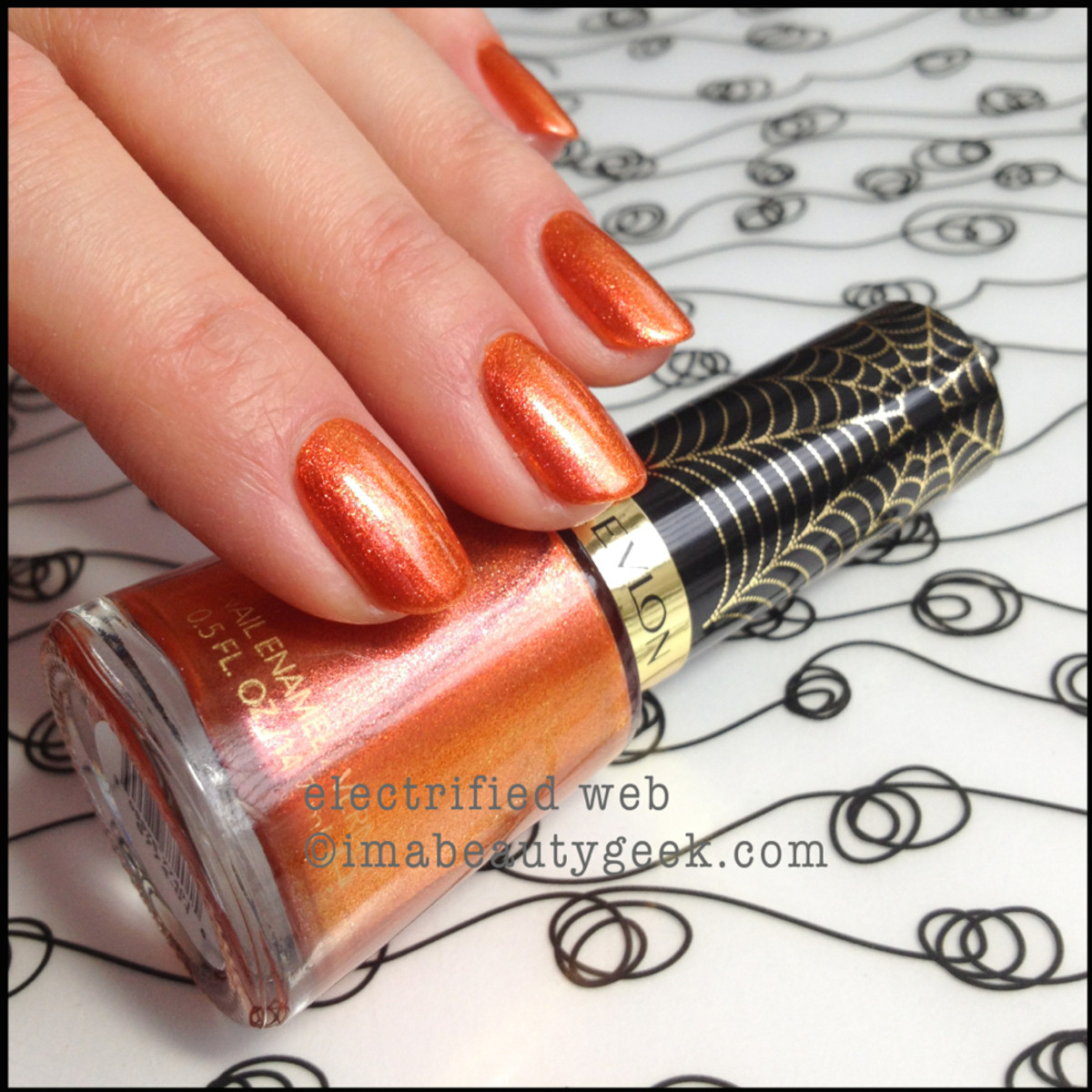 Revlon Spiderman Electrified Web Electric Chrome