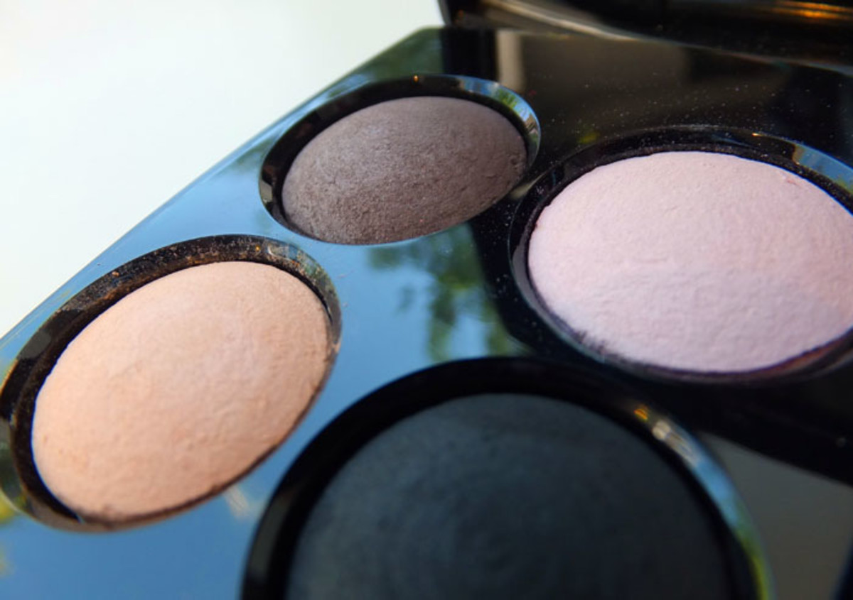 Chanel Quadra Eye Shadow in 38 Premier Regard_Fall 2012 makeup