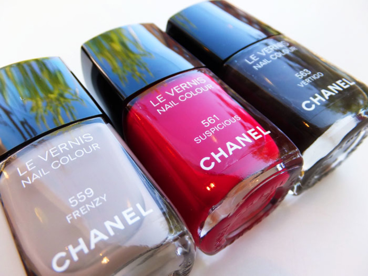 Chanel Nail Colour in Frenzy_Suspicious_Vertigo_Fall 2012 makeup