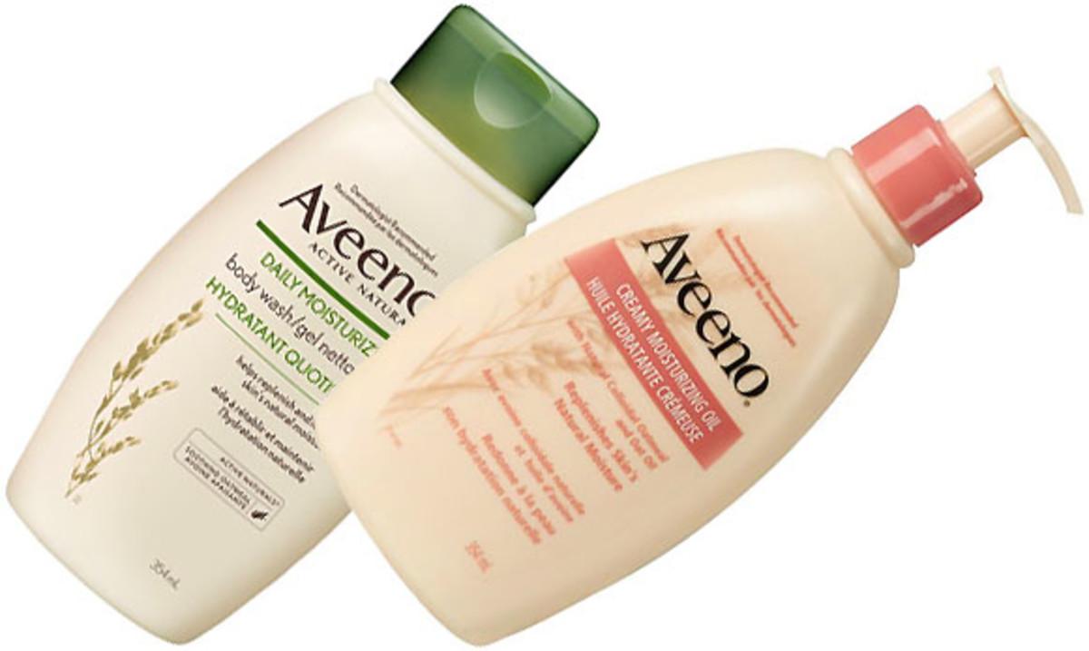 Aveeno Daily Moisturizing Body Wash_Aveeno Creamy Moisturizing Oil