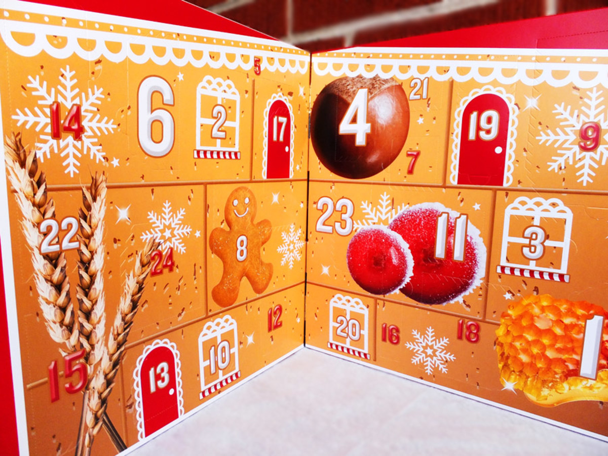 Best of The Body Shop Advent Calendar 2013_open