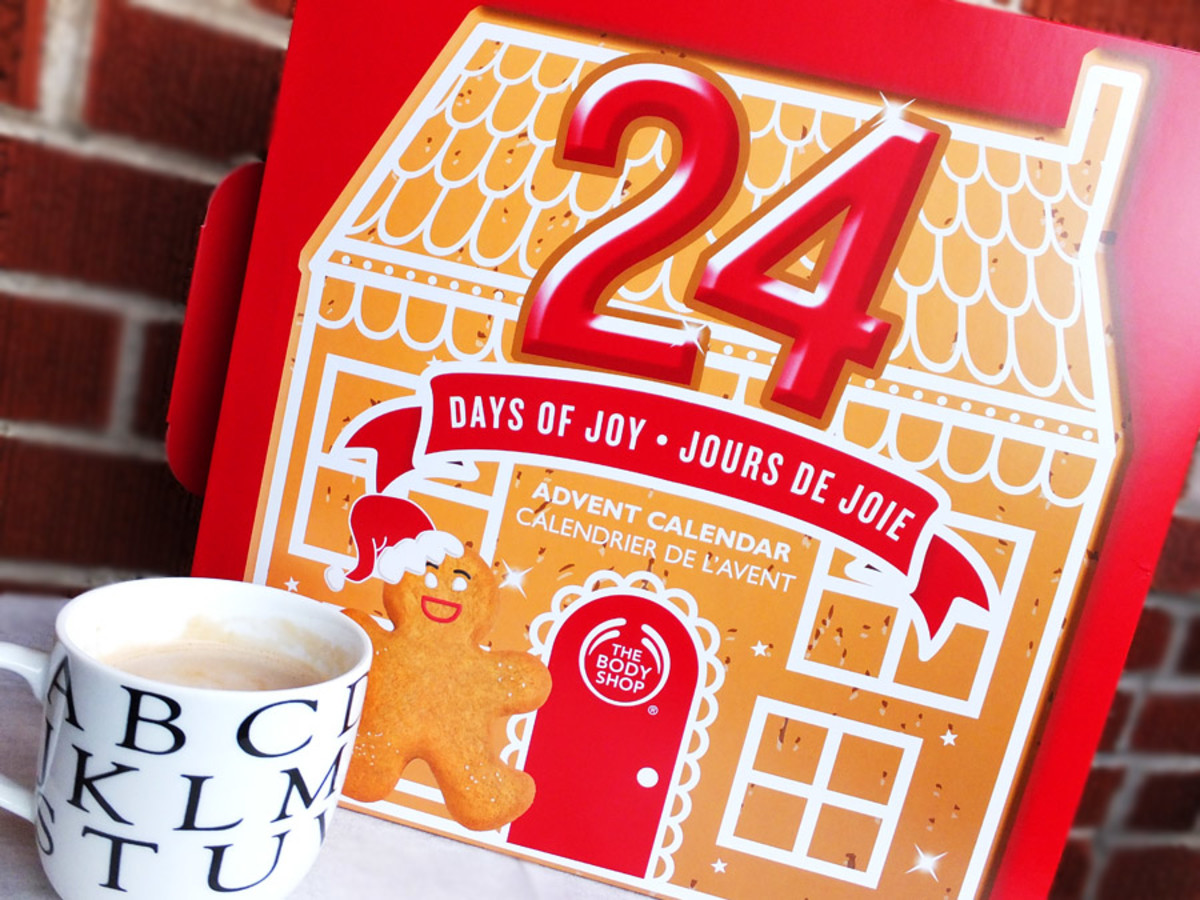 Best of The Body Shop Advent Calendar 2013_Canada