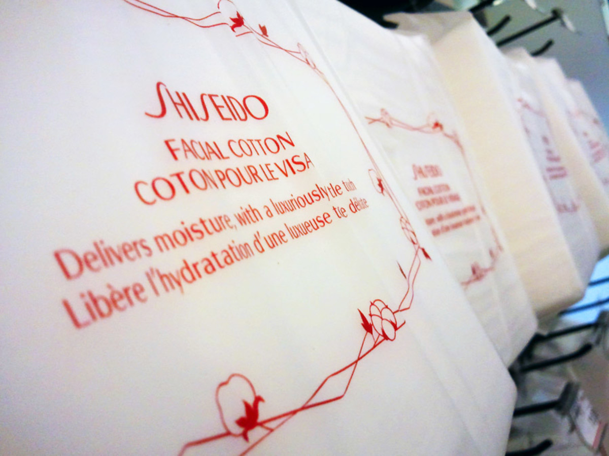 Shiseido Facial Cotton: I always buy two at a time when I finish one package.