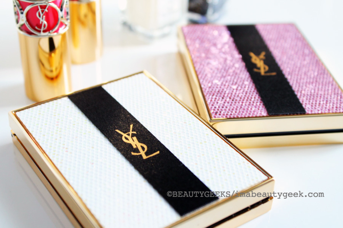 YSL Spring 2015_YSL Palette Lumiere de Jour Glow Enhancing Powder sequinned compact