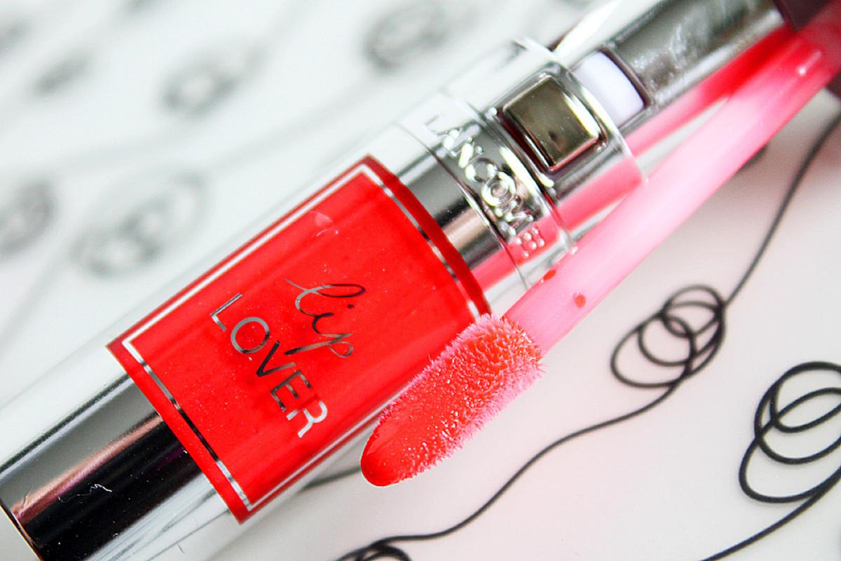Lancome Lip Lover 336 Orange Manege lip gloss