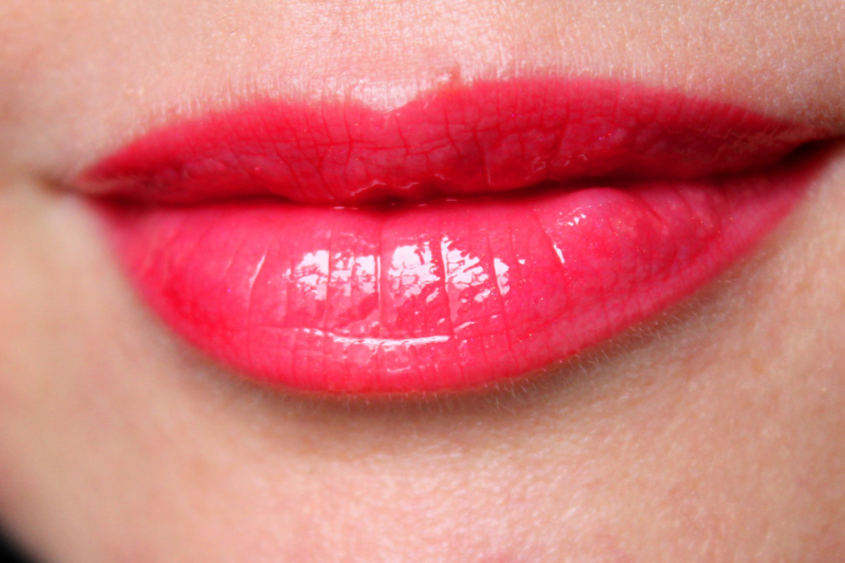 Lancome Lip Lover 336 Orange Manege swatch