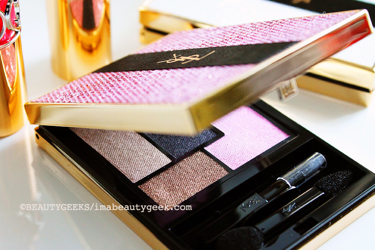 YSL Spring 2015_YSL Couture Palette Collector Palette Ombres de Jour_eyeshadow quintet