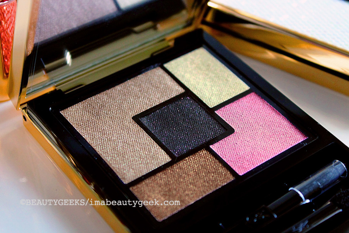 YSL Spring 2015_YSL Palette Ombres de Jours_5 shadows_Couture Palette Collector