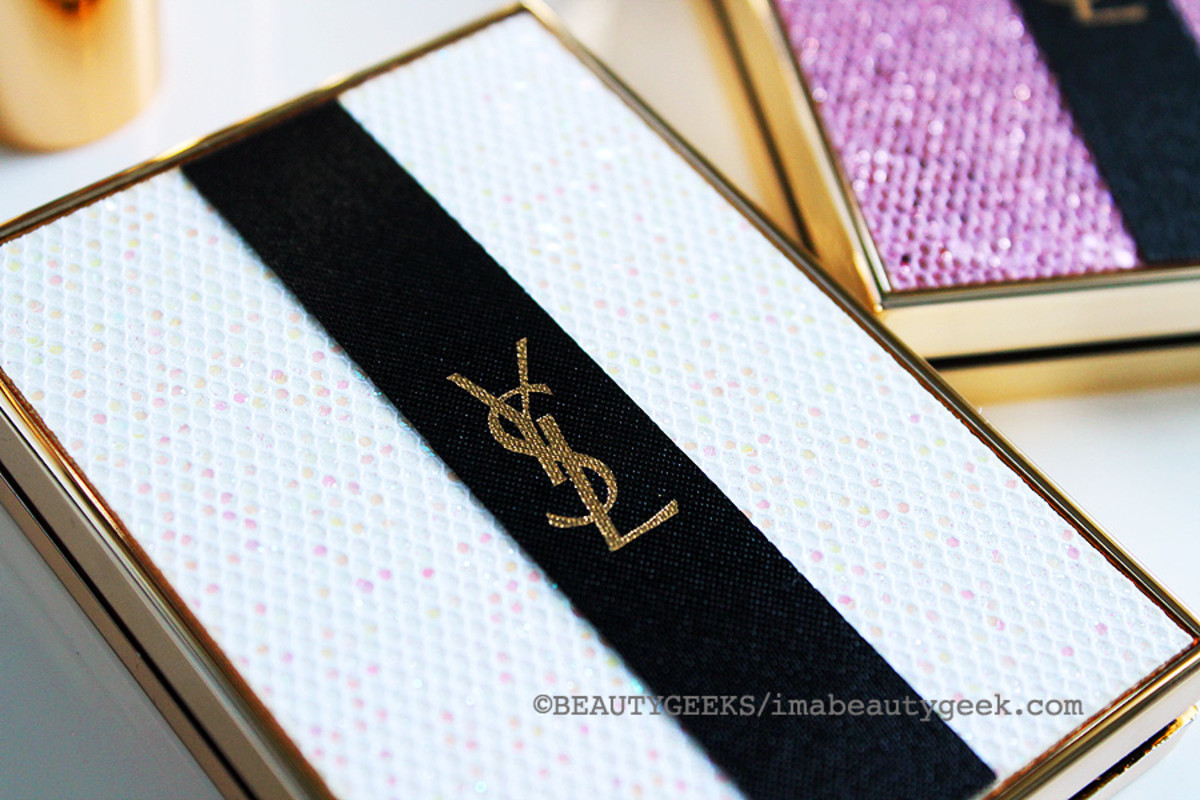 YSL Spring 2015_YSL Palette Lumiere de Jour Glow Enhancing Powder_sequinned compact