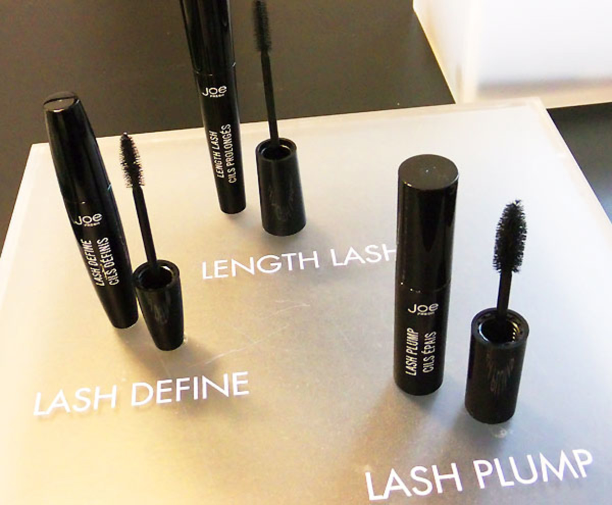 Joe Fresh Beauty_Lash Define Mascara_Length Lash Mascara_Lash Plump Mascara