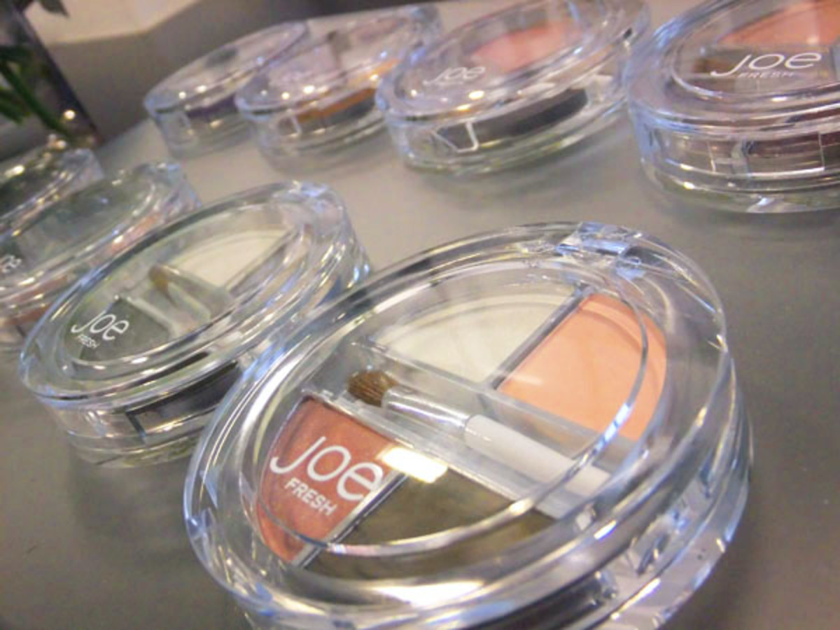 Joe Fresh Eye Shadow Quads March 2012