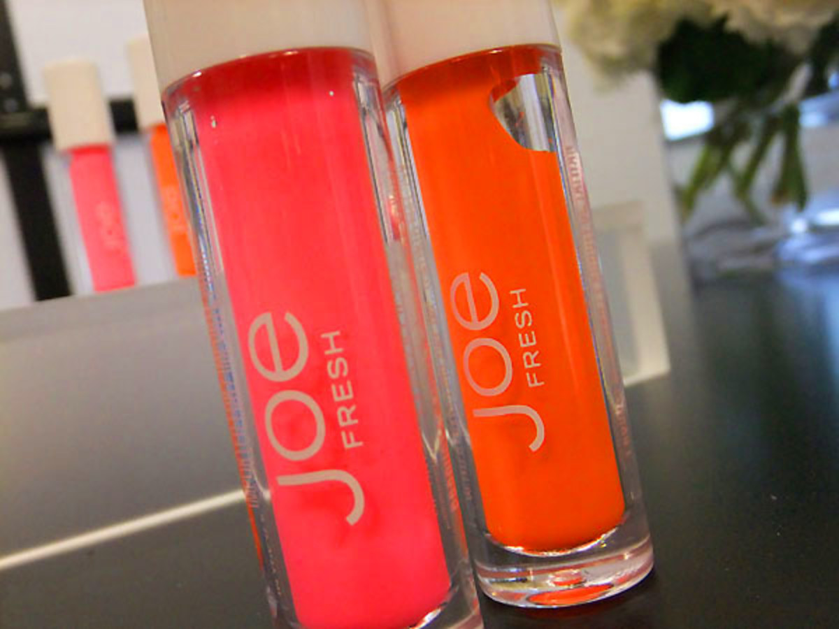 Joe Fresh Lip Tint in Bubble Gum and Crush