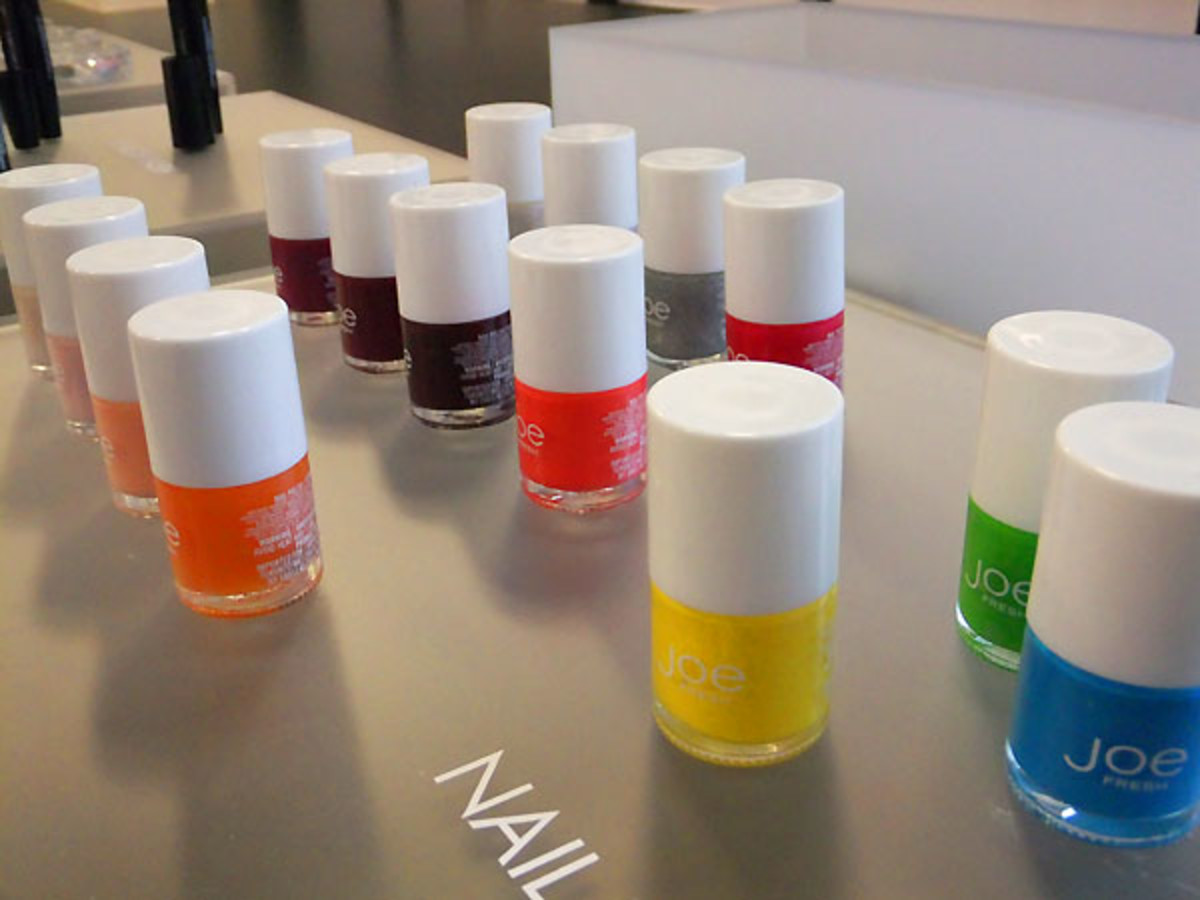 Joe Fresh Beauty nail polish Spring 2012