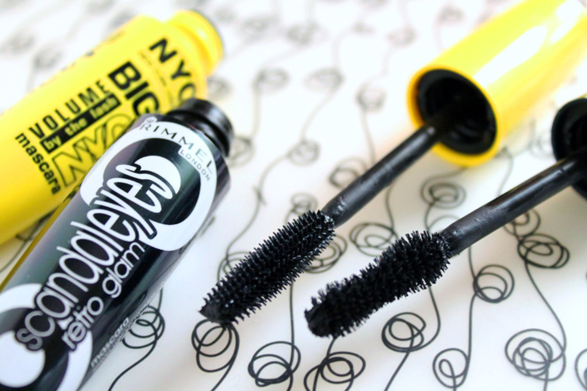 Budget Beauty_Rimmel London ScandalEyes Retro Glam mascara_NYC Big Bold Volume by the Lash Mascara