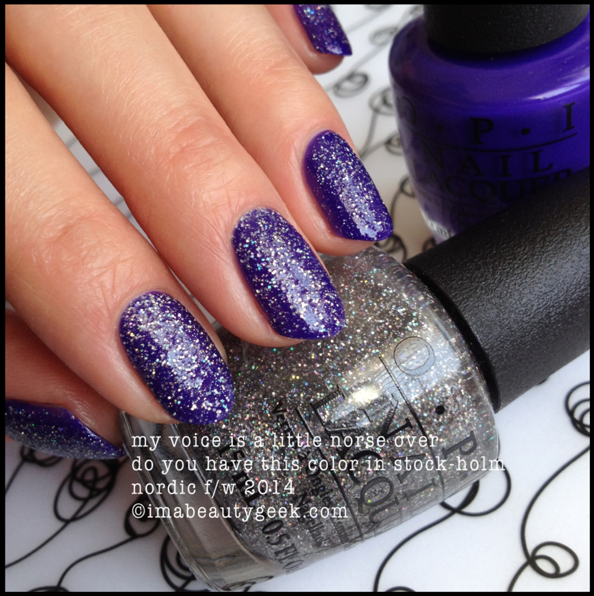 opi nordic my voice is a little norse over opi do you have this color in stock-holm?