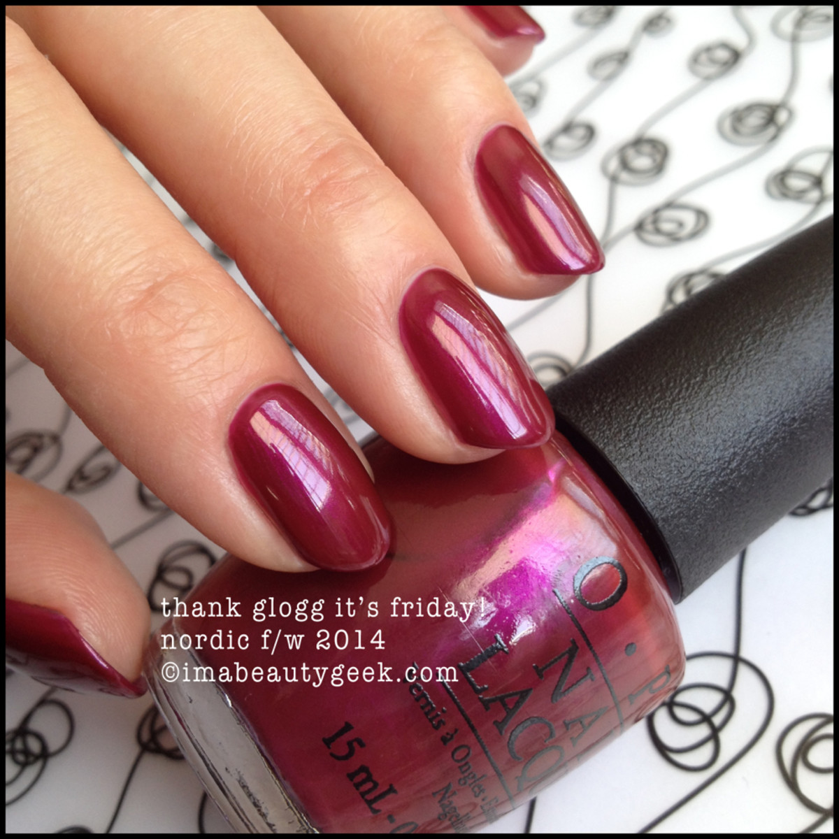 opi nordic thank glogg it's friday!