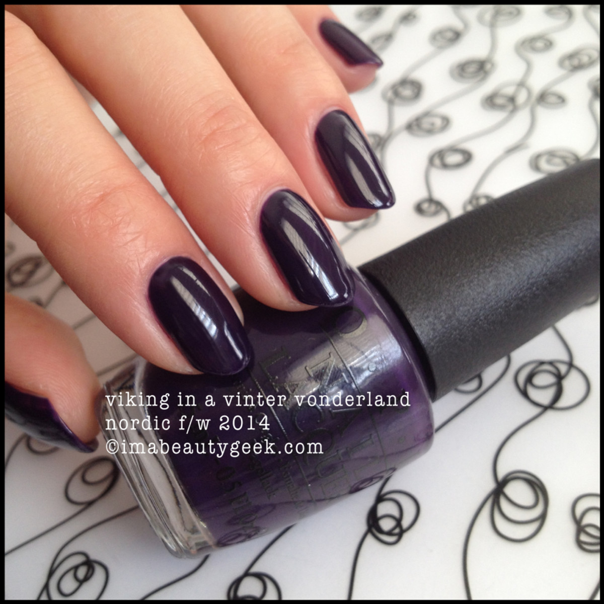 OPI Viking in a Vinter Vonderland Nordic 2014